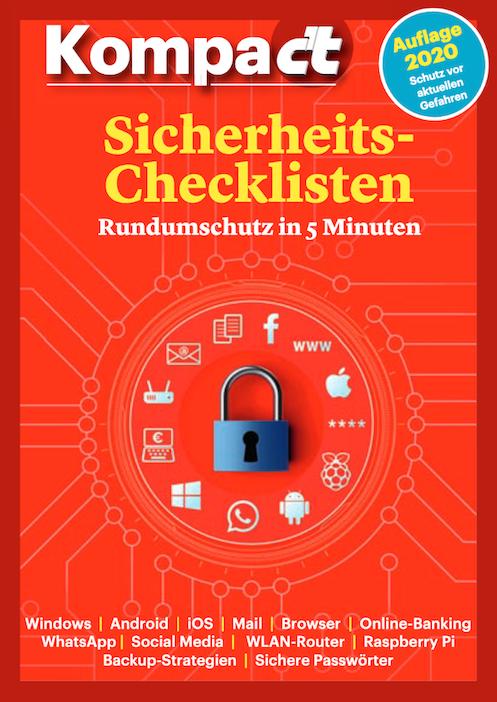 """Heise """"Sicherheits-Checklisten"""" - 2019"""